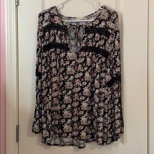 Boho Chic Floral Altair's State Blouse